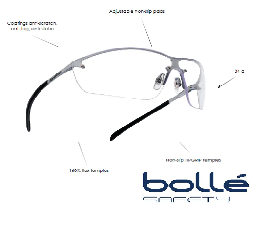 Bolle Sunglasses Side Shields | Louisiana Bucket Brigade