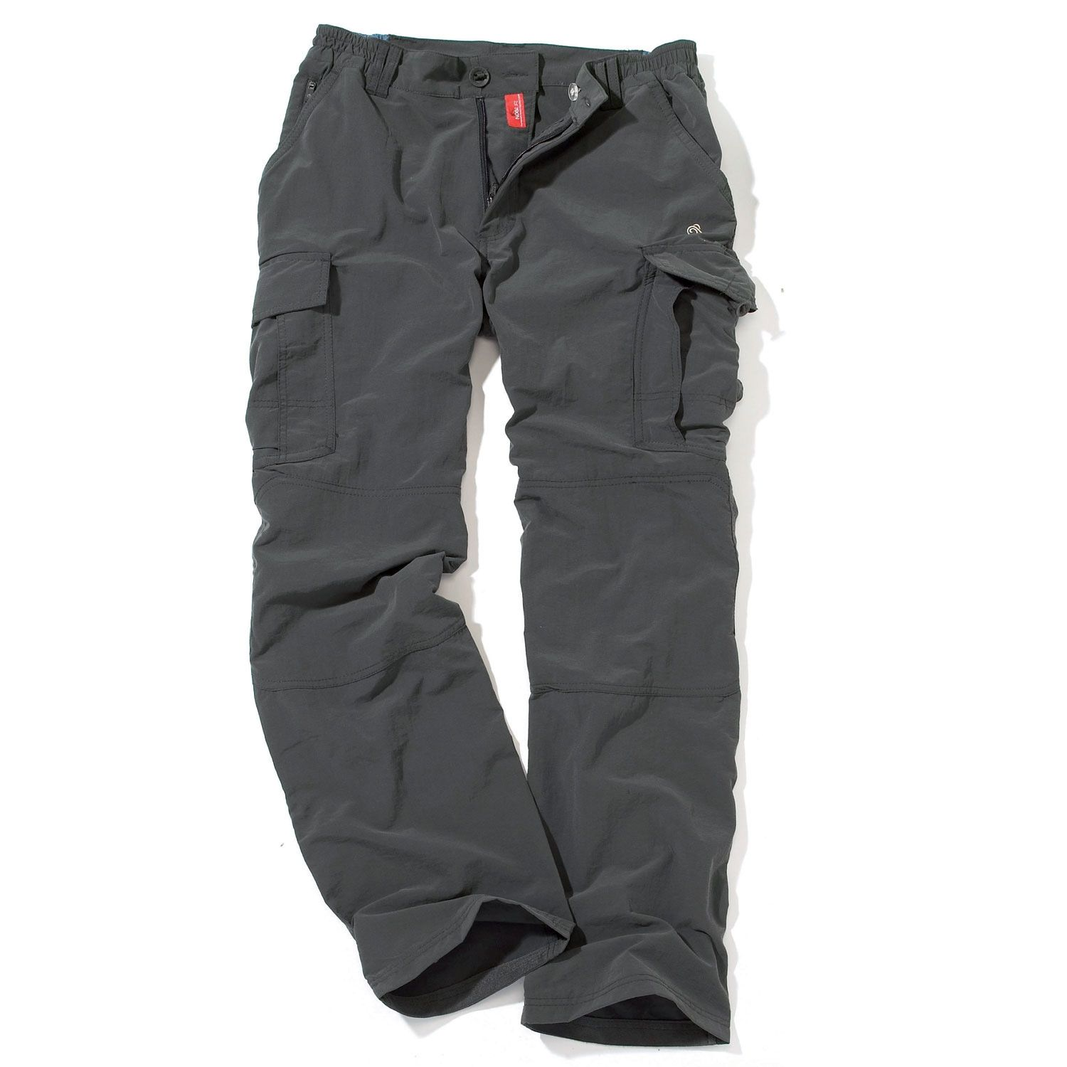 Craghoppers Black Pepper Nosilife Cargo Trousers