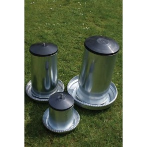 40kg Galvanised Hen/Turkey Feeder