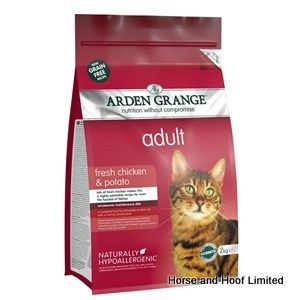 Arden Grange Chicken & Potato Adult Cat Food 2kg