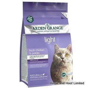Arden Grange Chicken & Potato Light Adult Cat Food 2kg