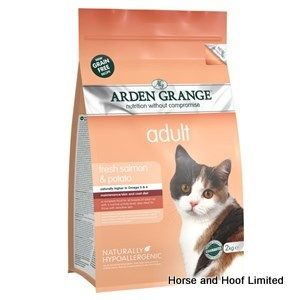 Arden Grange Salmon & Potato Adult Cat Food 2kg