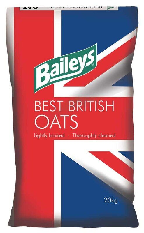 Baileys Bruised Best British Oats Horse Feed 20kg