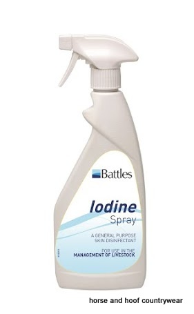 Battles Iodine Spray