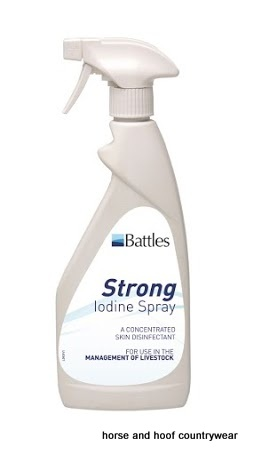 Battles Strong Iodine Spray