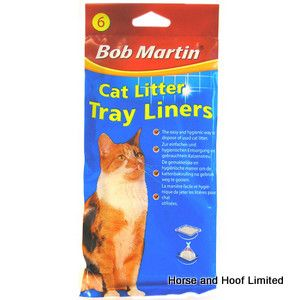 Bob Martin Cat Litter Tray Liners  Liners