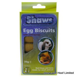 Bob Martin Egg Biscuit Wildberry Small Animal Biscuits 6 x 30g