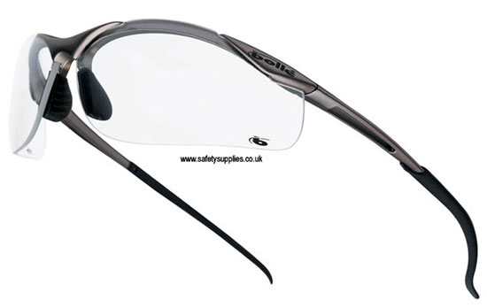 12c26454cea8 Bolle Contour Safety Glasses-Clear