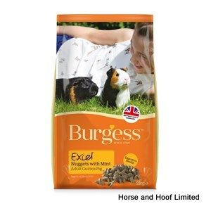 Burgess Excel Guinea Pig Food (Nuggets) 1kg