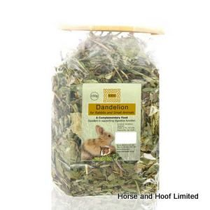 Burns Dried Whole Dandelion Small Animal Feed 100g