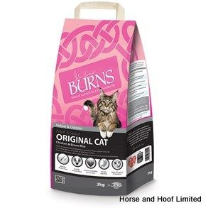Burns Original with Chicken & Brown Rice Cat Food 2kg