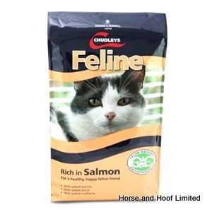 Chudleys Feline Salmon Cat Food 15kg