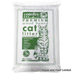 Comfey Woodbased Cat Litter 30L