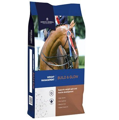 Dodson & Horrell Build & Glow Horse Feed 18kg