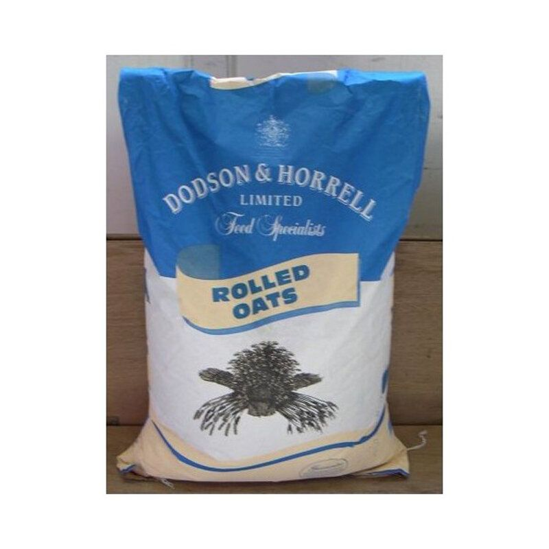 Dodson & Horrell English Rolled Oats Horse Feed 20kg