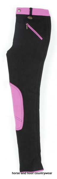 Emilia Children's Breeches Black/Pink