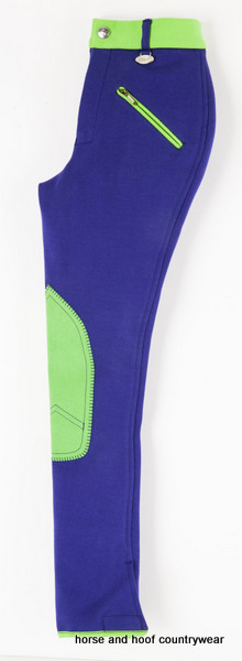 Emilia Children's Breeches Blue/Green