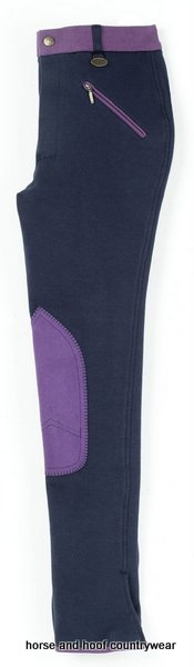 Emilia Children's Breeches Navy/Lilac