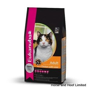 Eukanuba Adult Chicken Cat Food 10kg