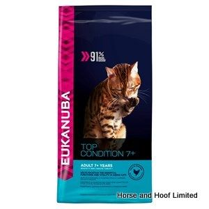 Eukanuba Adult Senior Cat Food 2kg