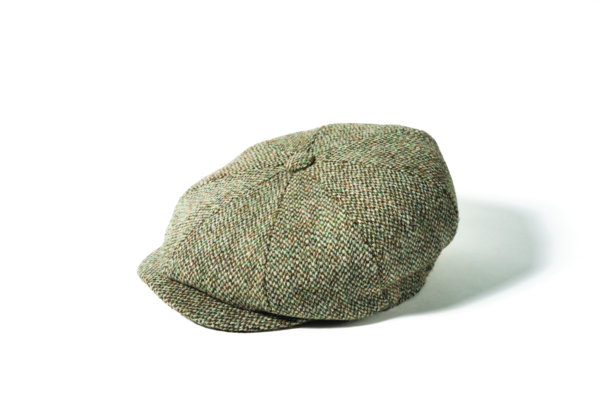Failsworth Harris Tweed 8 piece Wool Carloway Cap 56fb647e890