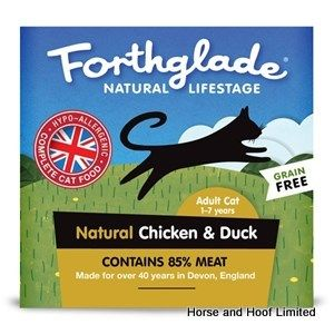 Forthglade Chicken & Duck Cat Food 12 x 90g