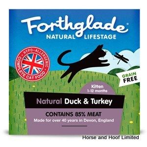 Forthglade Kitten Duck & Turkey Cat Food 12 x 90g