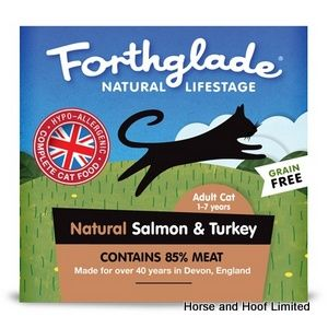 Forthglade Salmon & Turkey Cat Food 12 x 90g