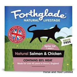 Forthglade Senior Cat Food With Salmon & Chicken 12 x 90g