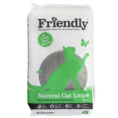 Friendship Estates Natural Cat Litter 20kg