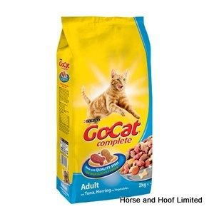 Go-Cat Comp Tuna, Herring & Vegetables Flavour Cat Food 2kg