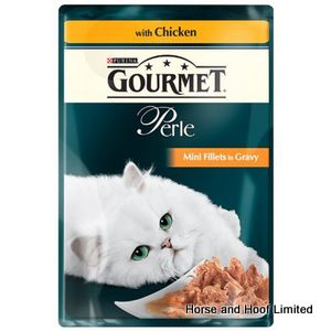 Gourmet Perle Grilled Chicken Cat Food 24 x 85g
