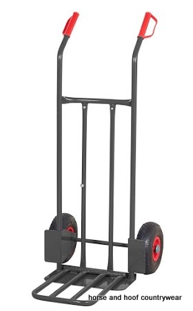 GPC Heavy Duty Steel Sack Truck with Folding Toe