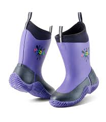 Grubs Icicle Children's Wellington Boot - Violet
