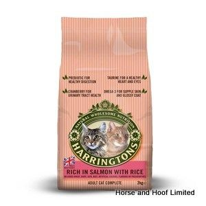 Harringtons Salmon & Rice Cat Food 2kg