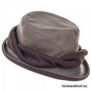 Heather Hats Adrienne Ladies Waxed Hat - Coffee