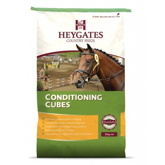 Heygates Conditioning Cubes Horse Feed 20kg