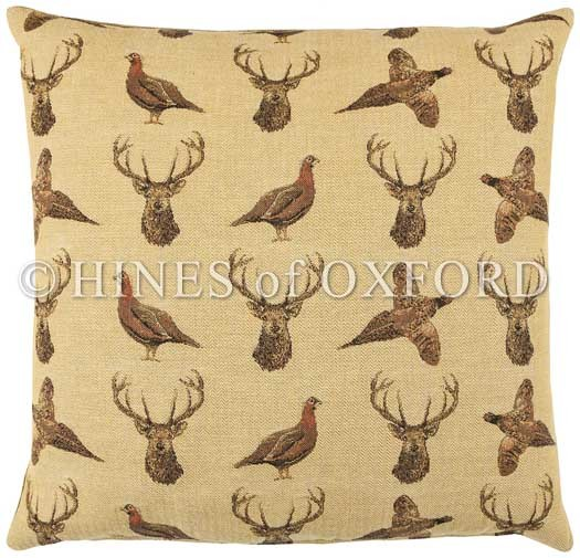 Highland Beige - Fine Tapestry Cushion