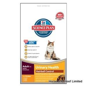 Hill's Urinary Health Hairball Control Cat Food 3kg