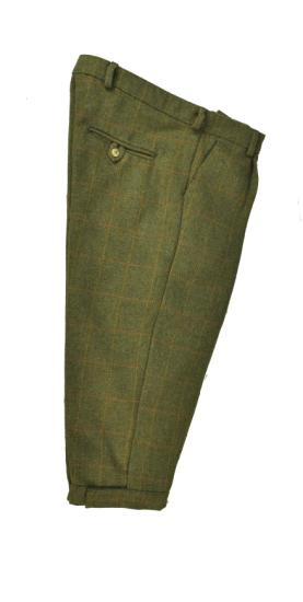 Hunter Outdoor Country Tweed Shooting  Breeks - Green