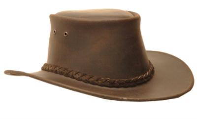 Hunter Outdoor Ned Kelly Stetson Style Hat - Brown 55c244df1ed