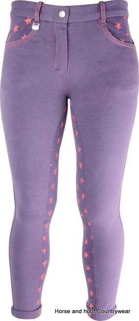 HyPERFORMANCE Rust Star Teen Jodhpurs