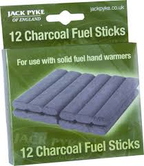 Jack Pyke Of England Spare Charcoal Sticks - 12 Pack