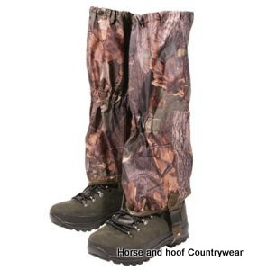 Jack Pyke of England Waterproof Gaiters - English Oak Camo