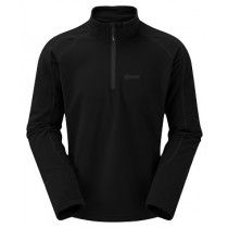 Keela Micro Pulse Fleece Top - Black