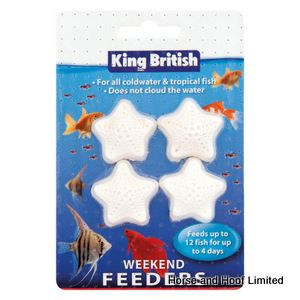 King British Weekend Feeder Complete Food For Tropical Fish