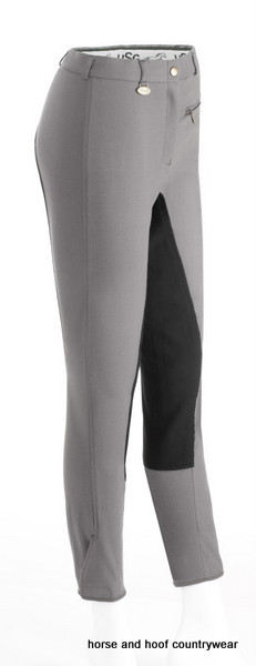 Laguna Ladies Breeches Grey/Black