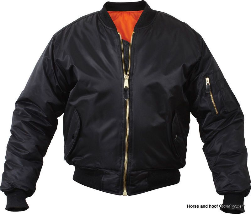 com MA1 Flight Jacket - Black