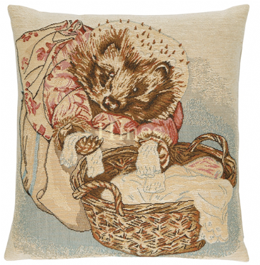 Mrs Tiggywinkle - Fine Tapestry Cushion