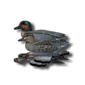 NRA Green Wing Teal Decoy